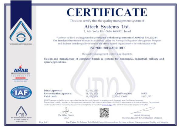 Aitech AS9100