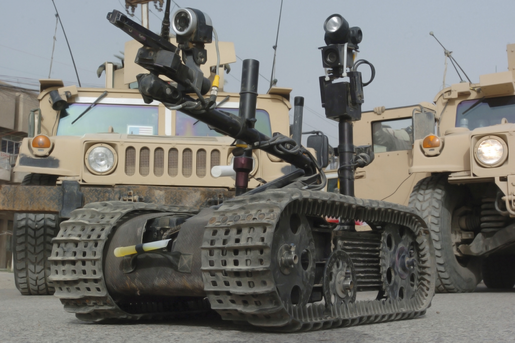 Aitech Unmanned Ground Vehicle Application Image