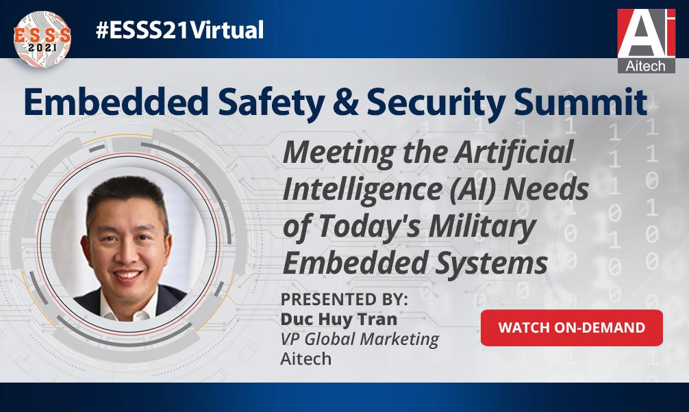 Embedded Safety & Security Summit Webinar 2021
