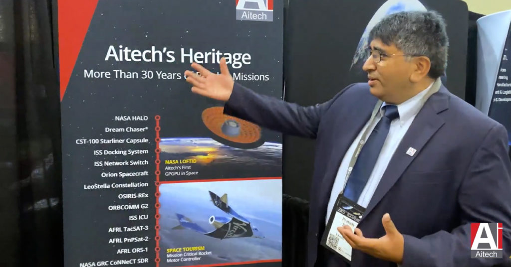 Aitech Space Capabilities Video